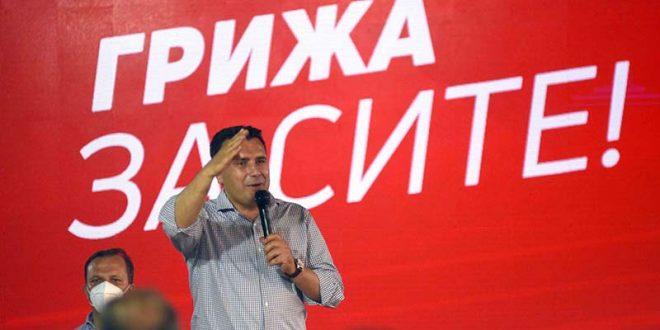 Заев од Чаир: СДСМ води за шест проценти, се додека Мицкоски е лажен патриот ќе губи