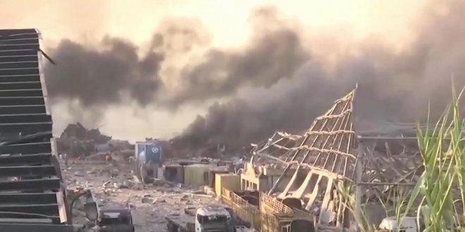 Бејрут: Бројот на загинати се искачи на 158, над 6.000 се повредени