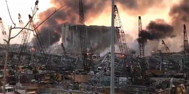 Најмалку 10 лица починаа по силната експлозија во Бејрут (ВИДЕО)