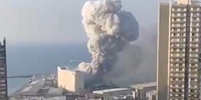 Моќна експлозија одекнa во Бејрут (ВИДЕО)