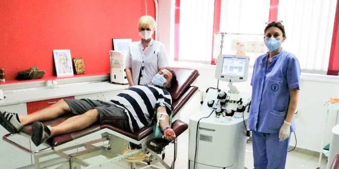 Братот на покојниот диџеј Ицко даруваше крвна плазма: Очекувам повик и за второ дарување бидејќи имам многу антитела