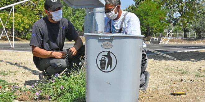 Поставени нови 90 корпи за ситен отпад во Карпош