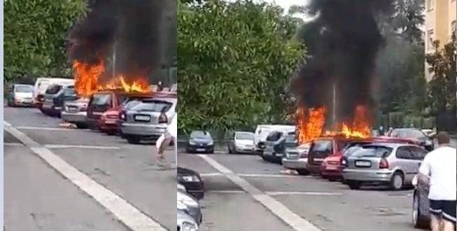 Расчистен случајот со изгорените возила во Ново Лисиче