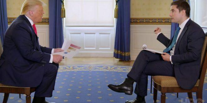 Интервјуто на Трамп кое покажа дека губи контрола (ВИДЕО)
