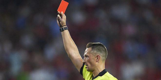 Црвен картон за кашлање кон противникот ?!