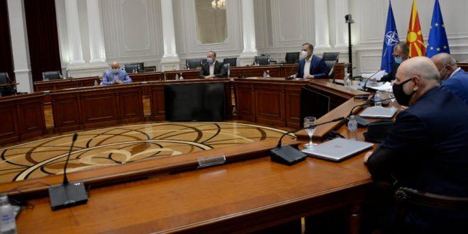 Средба на Спасовски со градоначалникот на Боговиње и со претставници од селата Синичане и Урвич