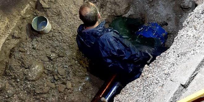 Затнати цевки причина за нови прекини во водоснабдувањето во Тетово