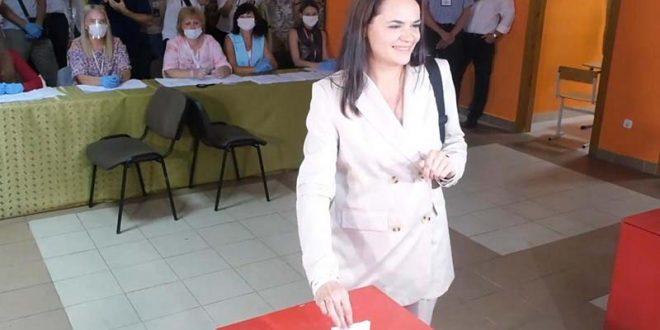 Противничката на Лукашенко: Мнозинството граѓани се со нас