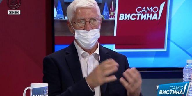 Петковски: Повикот за Али Ахмети во Хаг не е случаен, ниту нивното ретерирање од барањето за Албанец премиер