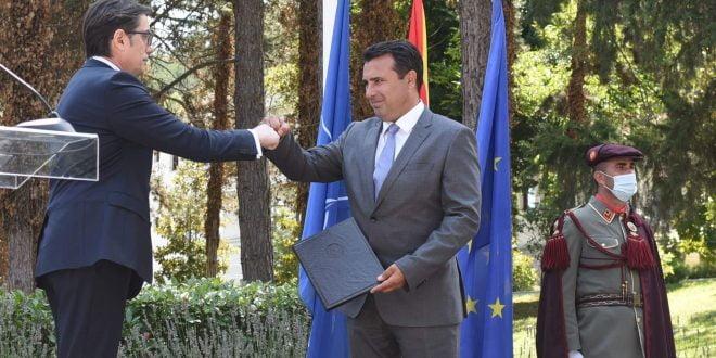 ГАЛЕРИЈА: Заев го доби мандатот и најави дека ќе биде премиер во следните четири години