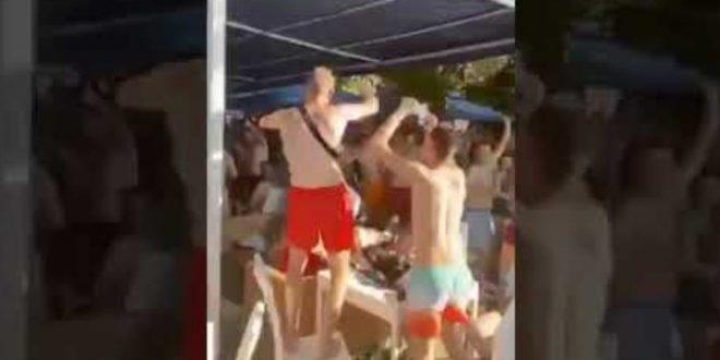 Масовни журки на плажите без маска и дистанца, за неколку дена ќе се знае дали Охрид ќе биде нов ковид кластер