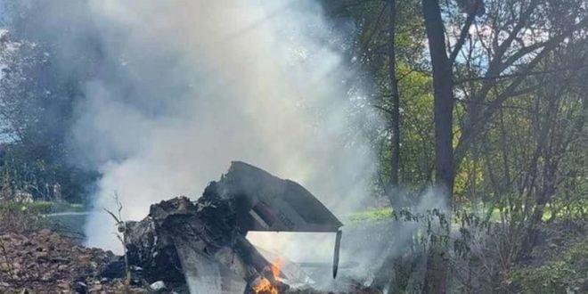 Миг-21 се урна во Србија (ВИДЕО)