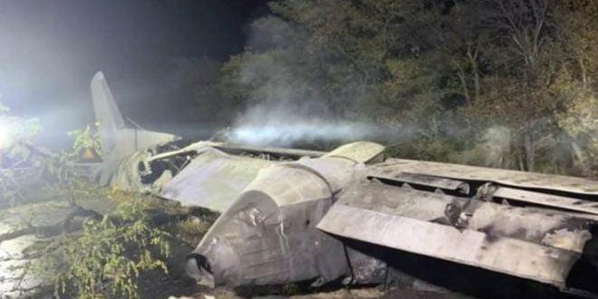 Се појави ВИДЕО од падот на украинскиот воен авион