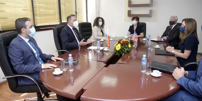 Спасовски-Брнз: Извонредна соработка, партнерство и пријателство на С. Македонија и САД
