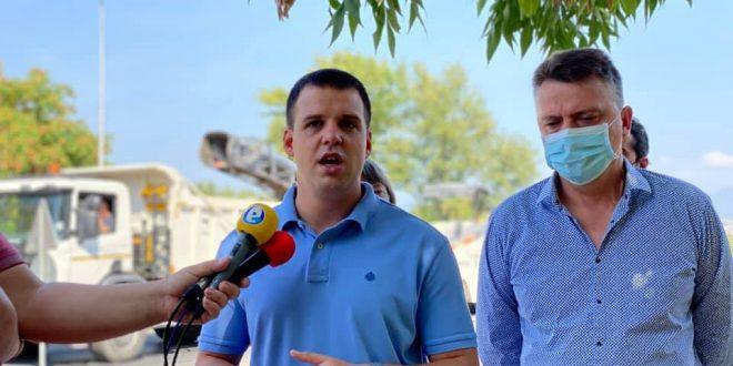 """Започнува реконструкцијата на улицата """"Никола Парапунов"""" во Карпош 4"""