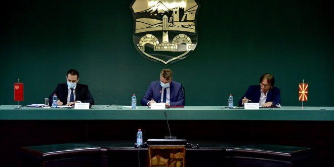Шилегов: Со новиот ГУП, лично се залагам за рационално и контролирано ширење на Скопје