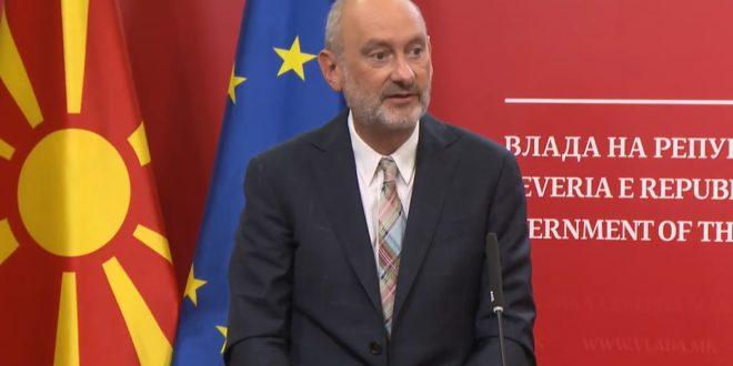 Евроамбасадорот Гир: Се надеваме на скоро одржување на првата меѓувладина конференција