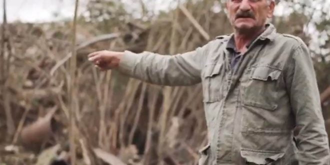 Ужаси на војната на кожа на цивилите во Нагорно Карабах: Овде беше ѕидот на куќата, а ова е граната (ВИДЕО)