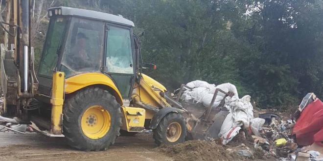 Поранешниот автополигон под Кале претворен во депонија