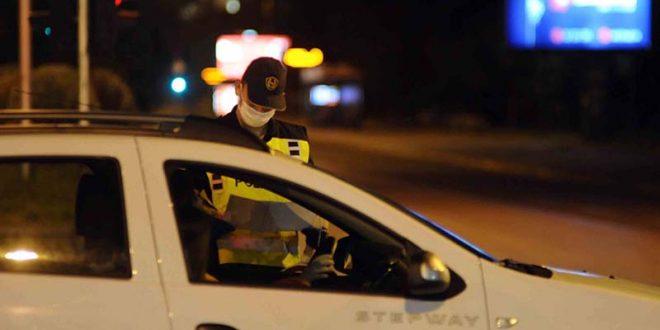 371 санкционирани возачи во Скопје, од кои 120 за пречекорена брзина