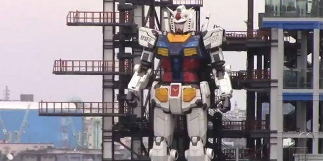 Јапонците направија огромен робот од анимирана серија кој може да оди (ВИДЕО)
