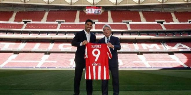Суарез потпиша со Атлетико Мадрид, Симеоне тргнува и по Кавани