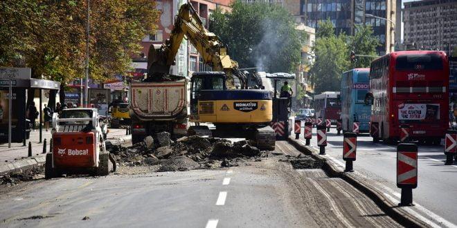 Се реконструирана улицата кај Градска болница, Шилегов со апел до граѓаните да бидат трпеливи