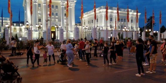 Мајките протестираат и бараат укинување на одлуката да се вратат на работа